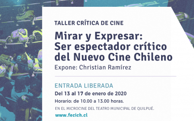 TALLER DE CRÍTICA CINEMATOGRÁFICA